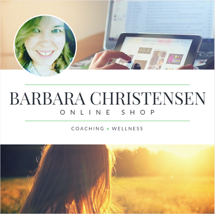 Barbara Christensen Bija Coaching Wellness Shop
