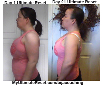21 Day Ultimate Reset Results